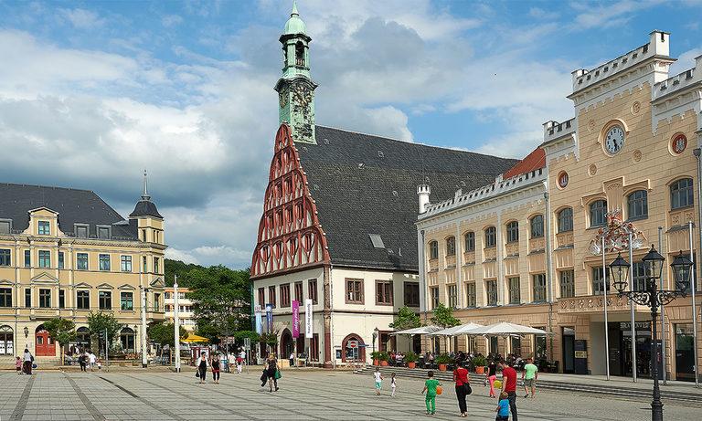 Markt Zwickau